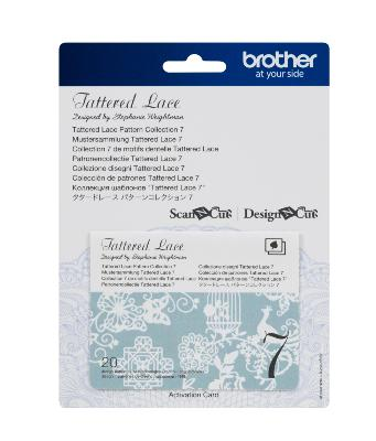 BROTHER Motifs Dentelle Tattered Lace Collection n°7