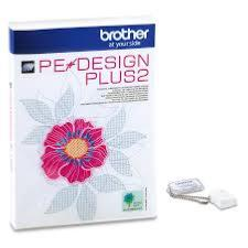 BROTHER Logiciel de Broderie PE-DESIGN PLUS 2