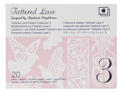 BROTHER Motifs Dentelle Tattered Lace Collection n°3
