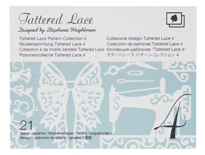 BROTHER Motifs Dentelle Tattered Lace Collection n°4