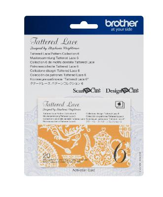 BROTHER Motifs Dentelle Tattered Lace Collection n°6