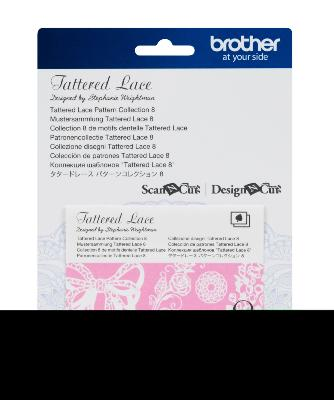 BROTHER Motifs Dentelle Tattered Lace Collection n°8