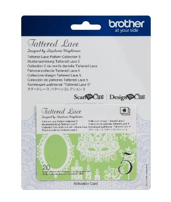 BROTHER Motifs Dentelle Tattered Lace Collection n°5